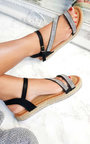 Matilda Diamante Flatform Sandals Thumbnail