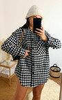 Maura Dogstooth Shirt Jacket Thumbnail