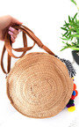 Mav Straw Circle Handbag Thumbnail