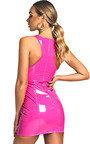 Meg PVC Bodycon Mini Dress Thumbnail