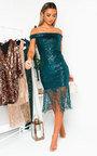 Melanie Sequin Tassled Midi Dress  Thumbnail
