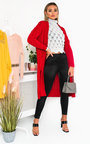 Melissa Longline Knitted Cardigan Thumbnail