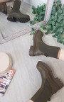 Melissa Mid Calf Chunky Sock Boot Thumbnail