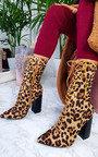 Mhairi Lace Up Heeled Boots Thumbnail