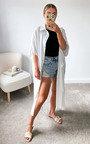 Mia Oversized Maxi Shirt Dress Thumbnail