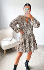 Mia Printed Smock Dress Thumbnail