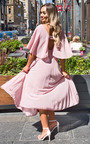 Michaela Pleated Maxi Dress Thumbnail