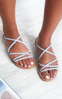 Millie Strappy Flat Sandals Thumbnail