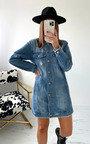 Minerva Denim Shirt Dress Thumbnail