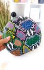 Minnie Printed Cricle Clutch Bag Thumbnail