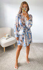 Minnie Printed Shirt Dress Thumbnail