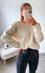 Minny Cable Knit Jumper Thumbnail