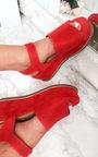 Miya Faux Suede Flatform Heel Thumbnail