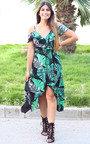 Miyka Tropical Maxi Dress Thumbnail