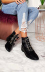 Mollie Buckle Ankle Boots  Thumbnail