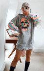 Molly Skull Embellished Jumper Thumbnail