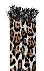 Mona Leopard Detail Scarf Thumbnail