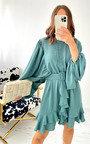 Mona Ruffle Dress Thumbnail