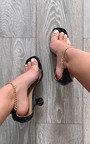 Savannah Chain Detail Heels Thumbnail
