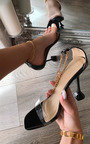 Savannah Chain Detail Heels Thumbnail
