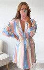 Murcia Striped Shirt Dress Thumbnail