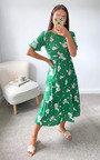 Muriel Tiered Midi Dress Thumbnail