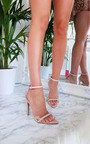 Mya Perspex Barely There Pointed Heels Thumbnail