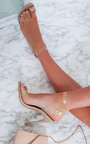 Myla Perspex Barely There Heels Thumbnail