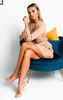 Mylo Satin Shirt Dress Thumbnail