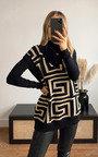 Nadia Printed Sleeveless Vest Thumbnail