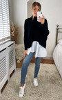 Nahla Knitted Shirt Jumper Thumbnail