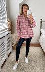 Nala Checked Printed Shirt Thumbnail