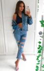 Nancy Distressed Boyfriend Jeans Thumbnail