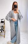 Natalia Oversized Maxi Cardigan  Thumbnail