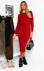 Naya Knitted Maxi Jumper Dress Thumbnail