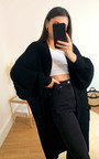 Naya Longline Knitted Cardigan Thumbnail