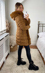 Neesa Faux Fur Padded Puffer Coat Thumbnail