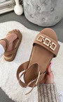 Nell Buckle Sandals Thumbnail