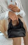 Nellie Faux Leather Pouch Bag Thumbnail