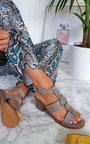 Niamh Strappy Studded Heeled Sandals Thumbnail