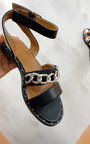 Nikki Chain Detail Sandals Thumbnail