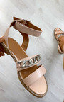 Nikki Chain Detail Sandals Thumbnail