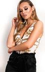 Nikki Chain Print Bodysuit  Thumbnail