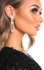 Nina Diamante Drop Earrings  Thumbnail