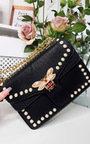 Ninna Pearl Studded Shoulder Bag Thumbnail