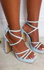 Noa Strappy Block High Heels  Thumbnail