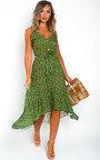 Nola Ditsy Print Maxi Dress Thumbnail