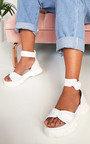 Nova Double Buckle Sport Chunky Sandals Thumbnail
