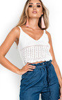 Nova Knitted Crop Top Thumbnail