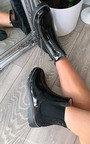 Nova Patent Ankle Boots Thumbnail